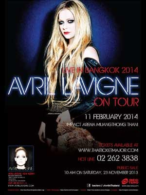AVRIL LAVIGNE Live in Bangkok 2014